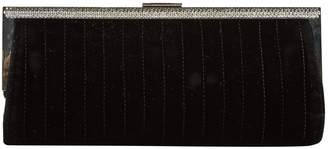 Azzaro Black Velvet Clutch Bag