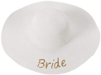 Cathy's Concepts CATHYS CONCEPTS Bride Sequin Beach Hat