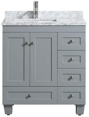 3.1 Phillip Lim Darby Home Co Kyndra Transitional Single Bathroom Vanity Set Base