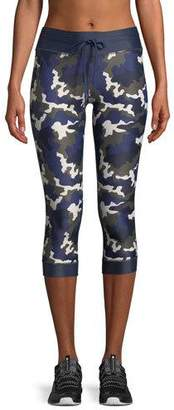 The Upside NYC Camo-Print Cropped Leggings