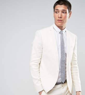Noak Skinny Blazer In Linen