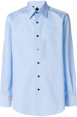 Billionaire classic collared button front shirt