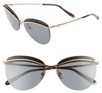 Tiffany & Co. & Co. 60mm Rimless Butterfly Sunglasses