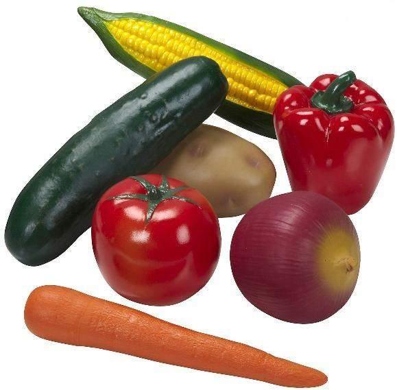 Melissa & Doug Playtime Produce Vegetables - Wooden Play Food