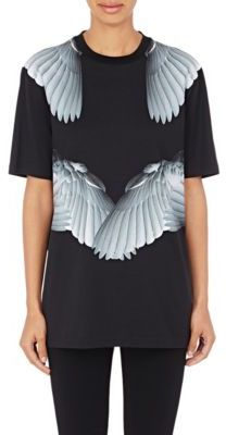 Givenchy Women's Angel-Wing T-Shirt-BLACK $940 thestylecure.com