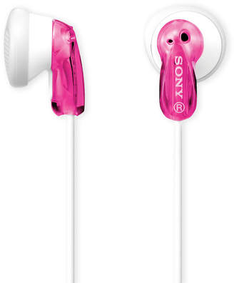 Sony Pink & White Fashion Earbuds