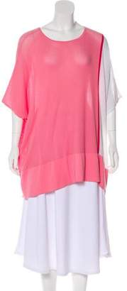 Magaschoni Oversize Knit Top