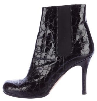 Kate Spade New York Embossed Ankle Boots