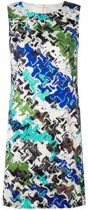 M Missoni printed fitted dress