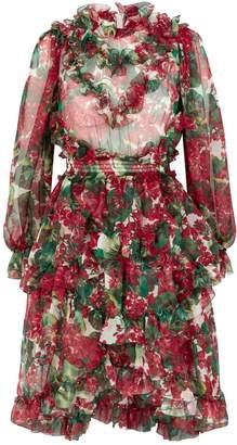 Dolce & Gabbana Geranium Mini Dress