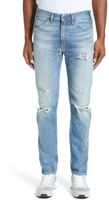 Men's Levi's Vintage Clothing 1969 606(TM) Destroyed Jeans $198 thestylecure.com
