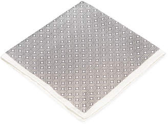 Ryan Seacrest Distinction Pacific Geo Pocket Square, Created for Macy's