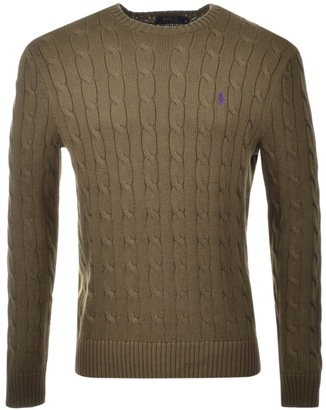 DESCRIPTION. Superdry women's Croyde cable knit jumper. This cable knit jumper features a classic crew neck and ribbed hems and cuffs. This jumper is finished with a Vintage Superdry logo tab on the hem and a Superdry NYC logo badge on the sleeve.