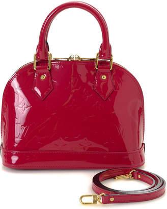 Louis Vuitton Patent Leather Alma BB Handbag - Vintage