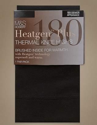Marks and Spencer 180 Denier Heatgen PlusTM Thermal Knee Highs