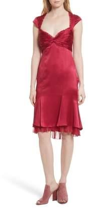 Cinq à Sept Marnie Satin Dress
