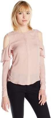 Fashion Union Union Fashion Ltd Women's Cold Shoulder Blouse