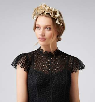 Forever New Brooke Flower Crown Fascinator