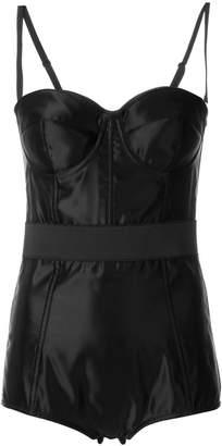 Dolce & Gabbana shoulder strap compression bodysuit