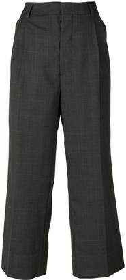 Miu Miu checked tailored trousers