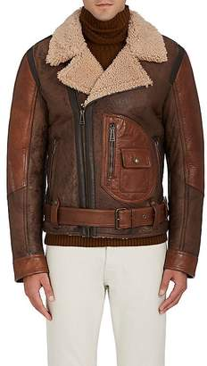 Belstaff Men's Danescroft Shearling Aviator Jacket