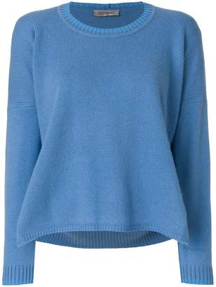 Sportmax cashmere flared knitted sweater