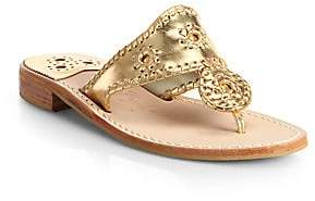 Jack Rogers Women's Palm Whipsticthed Beach Sandal