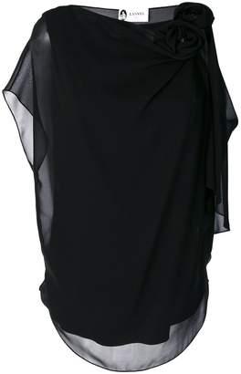 Lanvin rosette-embellished blouse