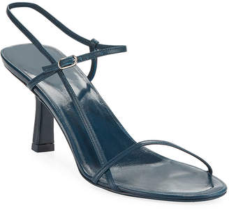 5501cd6f9428 The Row Bare Asymmetric Leather Sandals