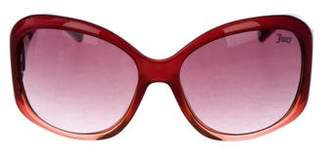 Juicy Couture Oversize Gradient Sunglasses