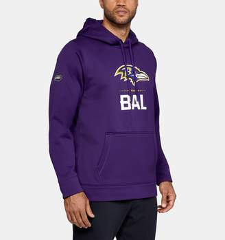 Under Armour Men's NFL Combine Authentic Armour Fleece Lockup Hoodie