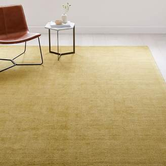 west elm Patina Rug - Dusty Yellow