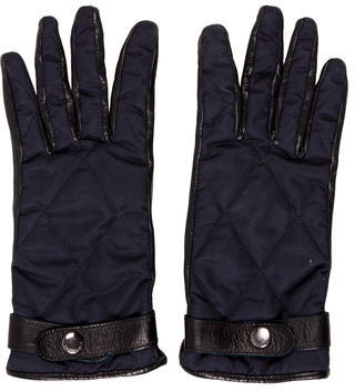 Burberry  Burberry Leather Quilted Gloves