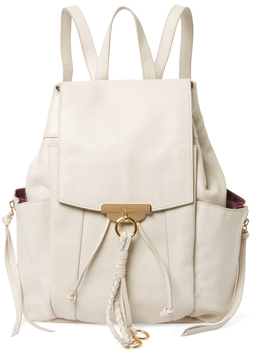 Margot Leather Backpack $398 thestylecure.com