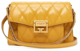 Givenchy Gv3 Small Quilted Leather Cross Body Bag - Womens - Yellow