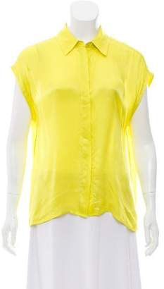 Equipment Collared Button Up Top