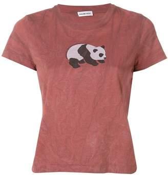 Balenciaga panda T-shirt