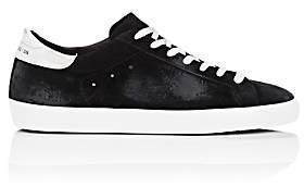 Golden Goose Men's Superstar Oiled Suede Sneakers-Black