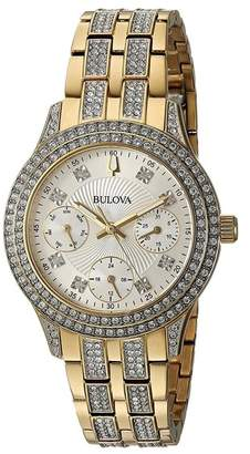 Bulova Women's Crystal Accented Watch, 33mm