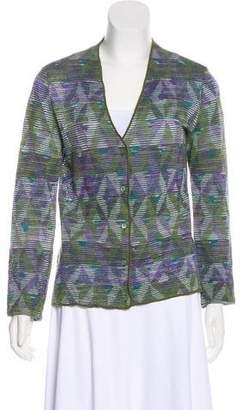 Missoni Button-Up Knit Cardigan