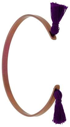Ileana Makri Eye M By Summer Titan tassel cuff