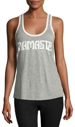 Spiritual Gangster Summer Aura Namaste Racerback Tank