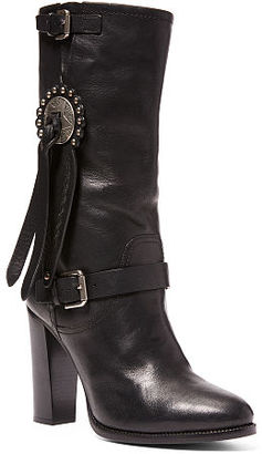 Ralph Lauren Concho Vachetta Leather Boot $1,350 thestylecure.com