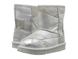 UGG Classic Short II Patchwork (Toddler/Little Kid)