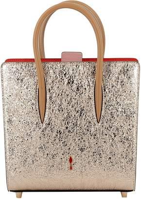 Christian Louboutin Latte/rose Leather Handbag
