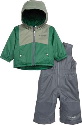 Columbia Double Flake Waterproof Insulated Jacket & Bib Snowsuit