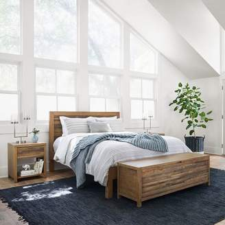 west elm Bay Reclaimed Pine Bed - Rustic Natural