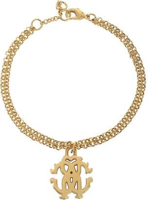 Roberto Cavalli RC Icon Golden Metal Bracelet