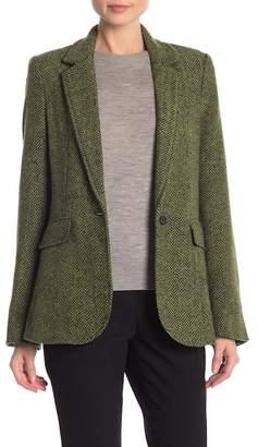 Rebecca Minkoff Merliee Tweed Herringbone Jacket