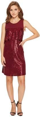 Kensie Sequin Jersey Dress KSNK9882 Women's Dress